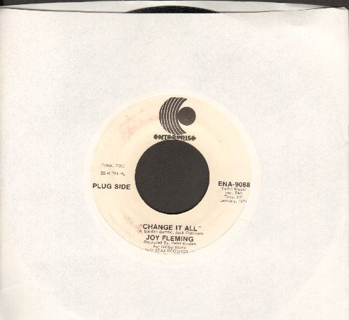 Fleming, Joy - Change It All/Ashes To Ashes (DJ advance pressing) - NM9/ - 45 rpm Records