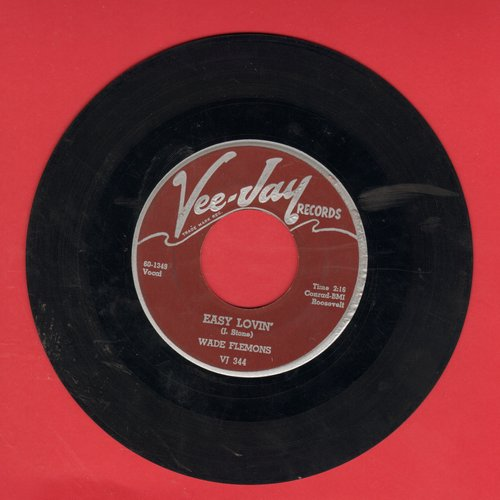Flemons, Wade - Easy Lovin'/Woops Now  - VG7/ - 45 rpm Records