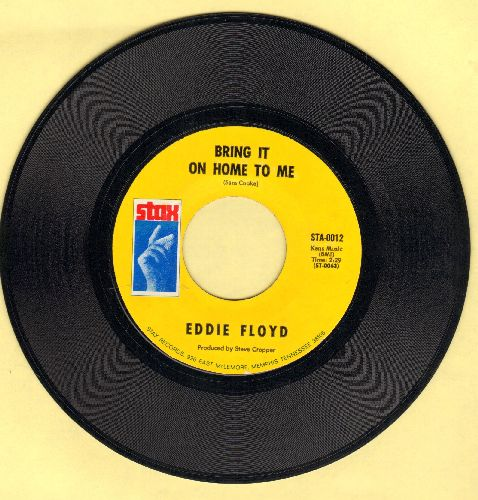 Floyd, Eddie - Bring It On Home To Me/Sweet Thing You Do - NM9/ - 45 rpm Records