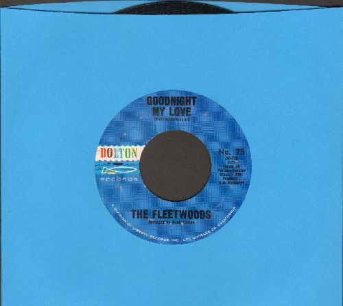 Fleetwoods - Goodnight My Love/Jimmy Beware  - EX8/ - 45 rpm Records