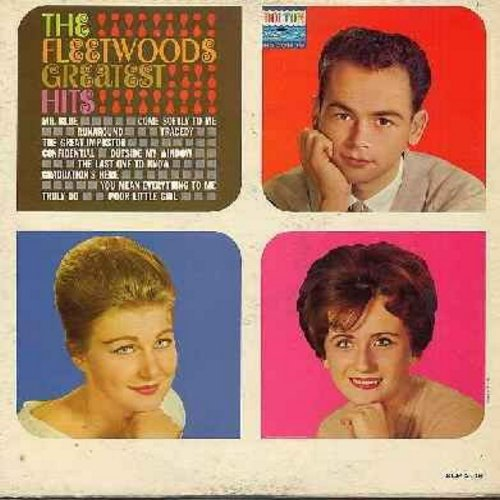 Fleetwoods - Greatest Hits: Mr. Blue, Come Softly To Me, Tragedy, Graduation's Here (Vinyl Mono LP record) - EX8/EX8 - LP Records