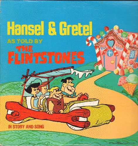 Flintstones - Hansel & Gretel as told by The Flintstones in story and song (vinyl STEREO LP record) - NM9/NM9 - LP Records