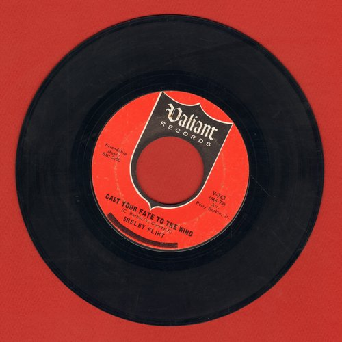 Flint, Shelby - Cast Your Fate To The Wind/The Lily - EX8/ - 45 rpm Records