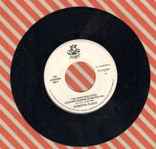 Flack, Roberta - The Christmas Song/25th Of Last December (Special Juke Box Pressing) - NM9/ - 45 rpm Records