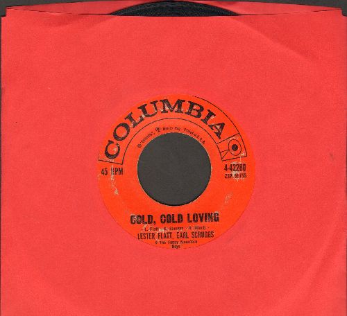 Flatt & Scruggs - Cold, Cold Loving/Just Ain't - VG6/ - 45 rpm Records