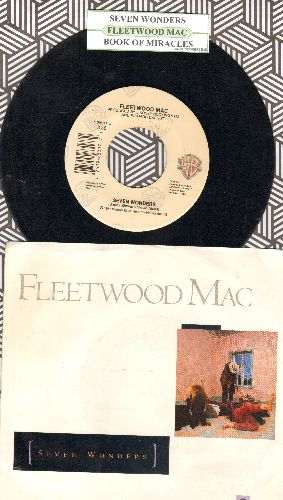 Fleetwood Mac - Seven Wonders/Book Of Miracles (with juke box label and picure sleeve) - VG7/NM9 - 45 rpm Records