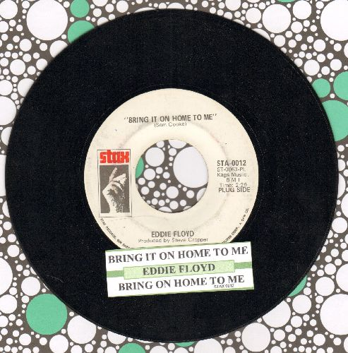 Floyd, Eddie - Bring It On Home To Me (double-A-sided DJ advance pressing with juke box label) - EX8/ - 45 rpm Records