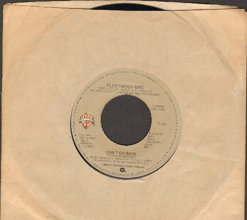 Fleetwood Mac - Can't Go Back/Love In Store (with Warner Brothers company sleeve) - NM9/ - 45 rpm Records