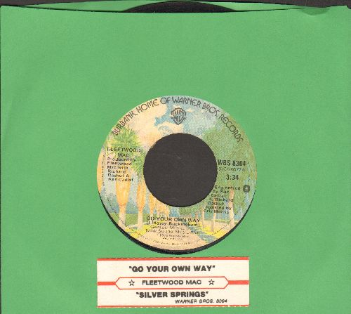 Fleetwood Mac - Go Your Own Way/Silver Springs (with juke box label) - VG7/ - 45 rpm Records