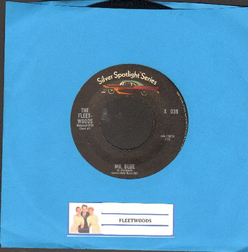 Fleetwoods - Mr. Blue/Tragedy (double-hit re-issue) - EX8/ - 45 rpm Records