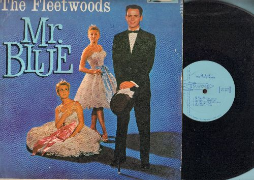 Fleetwoods - Mr. Blue: Unchained Melody, Come Softly To Me, Come Go With Me, Confidential, We Belong Together (vinyl MONO LP record) - EX8/VG6 - LP Records