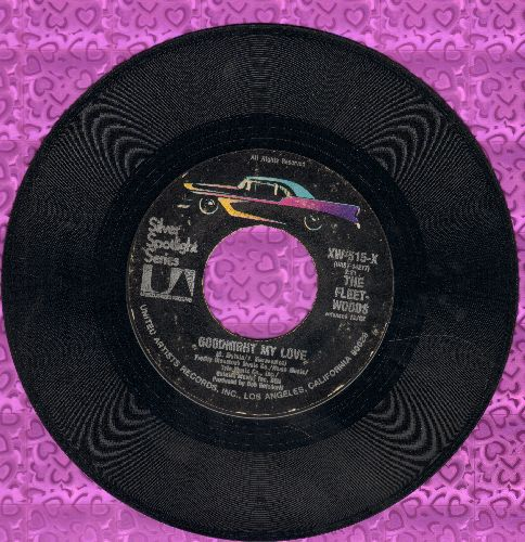 Fleetwoods - Goodnight My Love/He's The Great Imposter (double-hit re-issue) - VG7/ - 45 rpm Records