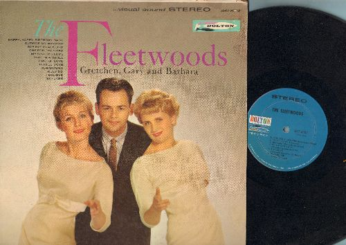 Fleetwoods - The Fleetwoods - Gretchen, Gary & Barbara: Happy Happy Birthday Baby, Runaround, Truly Do, One For My Baby, Turtle Dove (Vinyl STEREO LP record) - EX8/VG7 - LP Records
