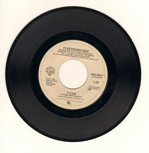 Fleetwood Mac - Tusk/Never Make Me Cry  - VG7/ - 45 rpm Records