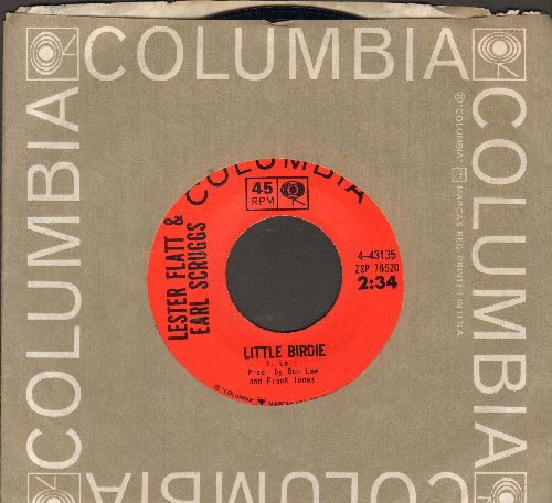 Flatt & Scruggs - Little Birdie/Sally Don't You Grieve (with Columbia company sleeve) - NM9/ - 45 rpm Records
