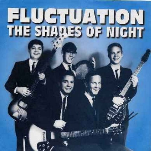 Shades Of Night - Fluctuation/Such A Long Time (re-issue with picture sleeve, vintage Garage Band Sound!) - M10/M10 - 45 rpm Records