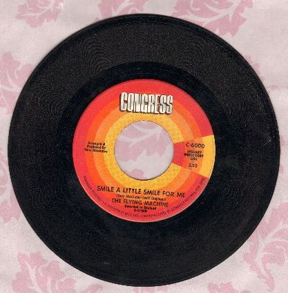 Flying Machine - Smile a Little Smile For Me (Rosemarie)/Maybe We've Been Loving Too Long  - EX8/ - 45 rpm Records