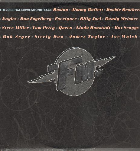FM - FM - The Original Movie Soundtrack - 2 vinyl STEREO LP records, gate-fold cover, icludes songs by Queen, Jimmy Buffett, Eagles, Linda Ronstadt, Bob Seger, others! - NM9/EX8 - LP Records