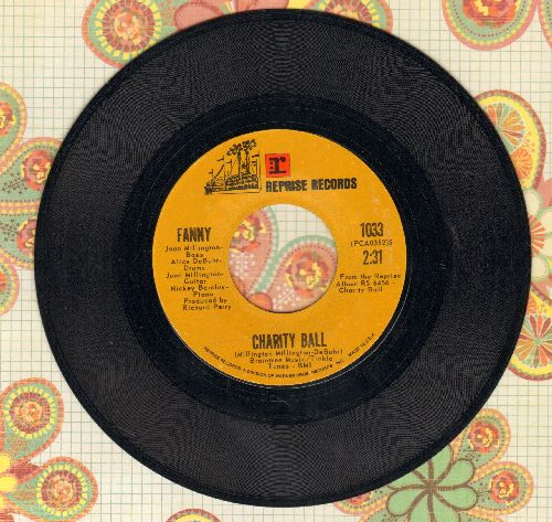 Fanny - Charity Ball/Place In The Country - NM9/ - 45 rpm Records
