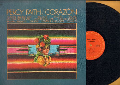 Faith, Percy - Corazon: Pata Pata, When I Fall In Love, Enter The Dragon, Beautiful Obsession (vinyl STEREO LP record) - NM9/NM9 - LP Records
