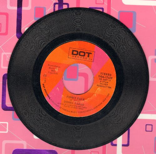 Fargo, Donna - Funny Face/How Close You Came (To Being Gone) - EX8/ - 45 rpm Records