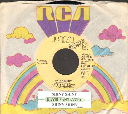 Haysi Fantayzee - Shiny Shiny (double-A-sided DJ advance copy with juke box label and RCA company sleeve) - NM9/ - 45 rpm Records