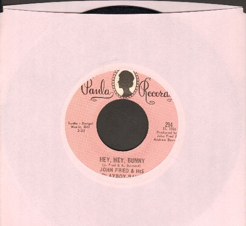 Fred, John & His Playboy Band - Hey, Hey, Bunny/No Letter Today - EX8/ - 45 rpm Records