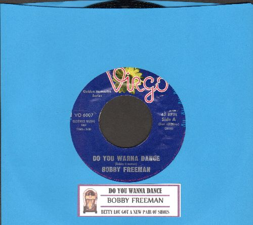 Freeman, Bobby - Do You Wanna Dance/Betty Lou Got A New Pair Of Shoes (double-hit re-issue with juke box label) - NM9/ - 45 rpm Records