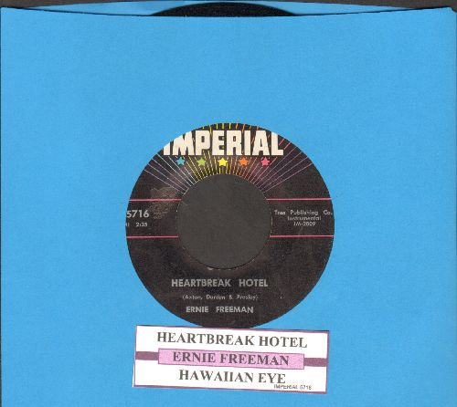Freeman, Ernie - Marshmallows, Popcorn & Soda Pop/Honey - EX8/ - 45 rpm Records
