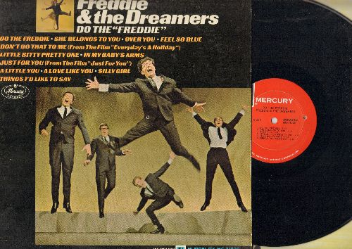 Freddie & The Dreamers - Do The Freddie: Don't Do That To Me, Little Bitty Pretty One, Just For You (vinyl MONO LP record) - NM9/EX8 - LP Records