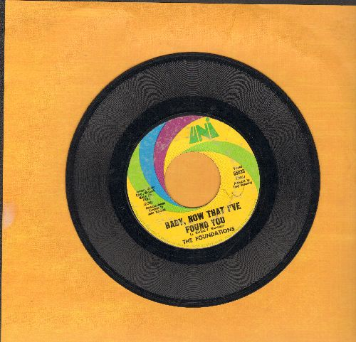 Foundations - Baby, Now That I've Found You/Come On Back To Me  - G5/ - 45 rpm Records