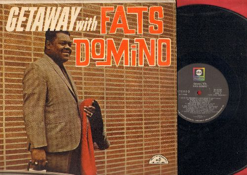 Domino, Fats - Getaway with Fats Domino: Ballin' The Jack, Monkey Business, Kansas City, When My Dreamboat Comes Home, Slow Boat To China (Vinyl STEREO LP record, second pressing) - NM9/EX8 - LP Records