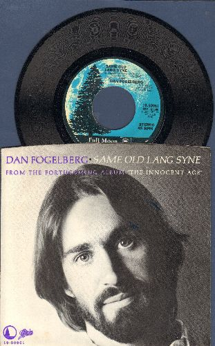 Fogelberg, Dan - Same Old Lang Syne/Hearts And Crafts (with picture sleeve) - NM9/NM9 - 45 rpm Records