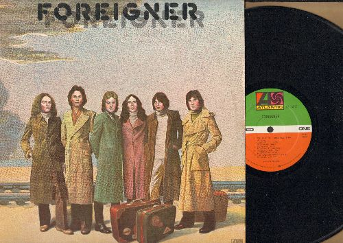 Foreigner - Foreigner: Feels Like The First Time, Cold As Ice, I Need You (Vinyl STEREO LP record, 1977 first pressing) - EX8/EX8 - LP Records