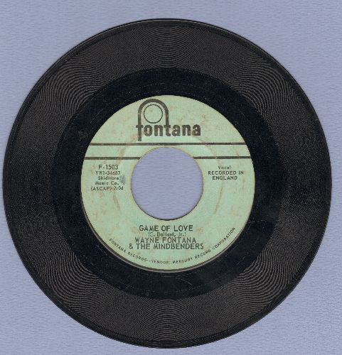 Fontana, Wayne & The Mindbenders - Game Of Love/One More Time (wol) - VG7/ - 45 rpm Records