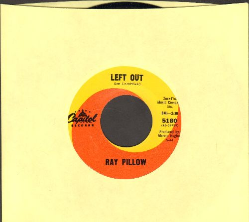 Pillow, Ray - Left Out/What's The World Coming To - EX8/ - 45 rpm Records
