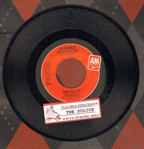 Police - Flexible Strategies/Spirits In The Material World (with juke box label) - NM9/ - 45 rpm Records