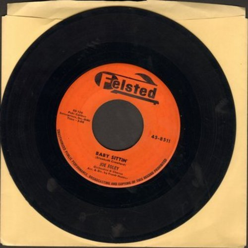 Foley, Joe - Baby Sittin'/You Know - EX8/ - 45 rpm Records