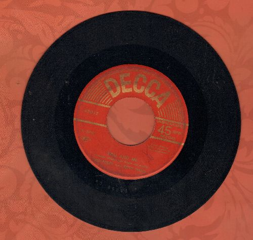 Foley, Red & Kitty Wells - You And Me/No One But You (Japanese Pressing) - VG7/ - 45 rpm Records