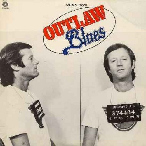 Fonda, Peter, Susan St. James, Steve Fromholz - Outlaw Blues - Original Motion Picture Sound Track featuring voal songs by Peter Fonda, Susan St. James and Steve Fromholz (Vinyl STEREO LP record) - NM9/EX8 - LP Records