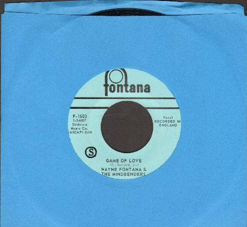 Fontana, Wayne & The Mindbenders - Game Of Love/Since You've Been Gone - EX8/ - 45 rpm Records