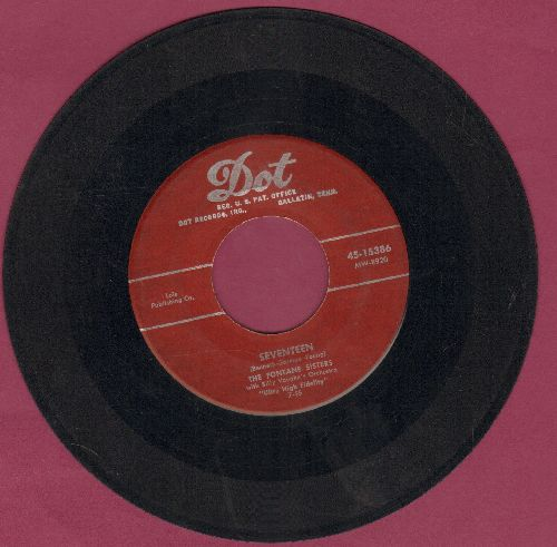 Fontane Sisters - Seventeen/If I Could Be With You (burgundy label) - VG7/ - 45 rpm Records