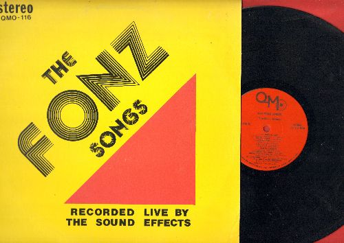 Sound Effects - The Fonz Songs - Recorded LIVE by The Sound Effects: Jailhouse Rock, She Loves You, Mashed Potato Time, Stay, Teen Angel, 16 Candles (vinyl STEREO LP record) - EX8/EX8 - LP Records