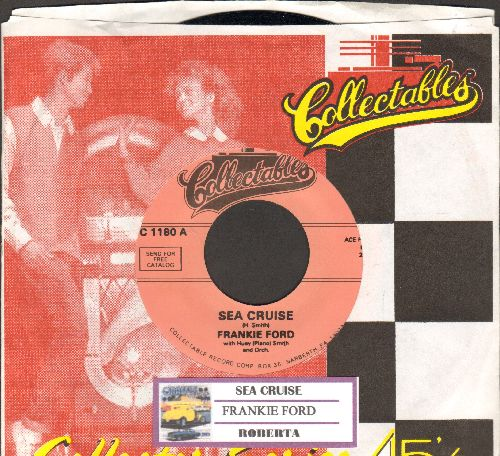 Ford, Frankie - Sea Cruise/Roberta (re-issue with juke box label and company sleeve) - M10/ - 45 rpm Records