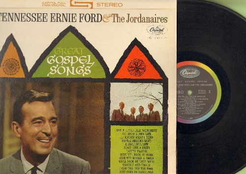Ford, Tennessee Ernie & The Jordanaires - Great Gospel Songs: Just A Little Talk With Jesus, Daniel Prayed, Rock Of Ages, Hide Me (Vinyl STEREO LP record) - VG7/EX8 - LP Records