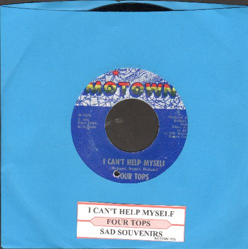 Four Tops - I Can't Help Myself/Sad Souvenirs (with juke box label)(bb) - NM9/ - 45 rpm Records