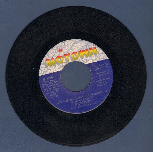 Four Tops - (It's The Way) Nature Planned It/I'll Never Change - EX8/ - 45 rpm Records