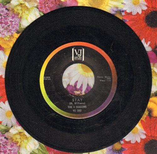 Four Seasons - Stay/Goodnight My Love (NICE condition!) - NM9/ - 45 rpm Records