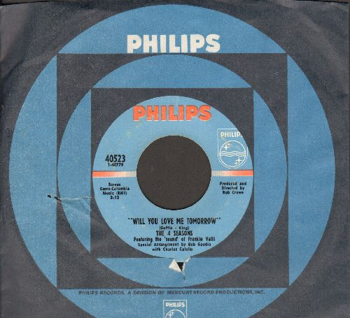 Four Seasons - Will You Love Me Tomorrow/Around And Around (with Philips company sleeve) - NM9/ - 45 rpm Records