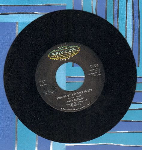 Four Seasons - Working My Way Back To You/Beggin' (double-hit re-issue) - EX8/ - 45 rpm Records